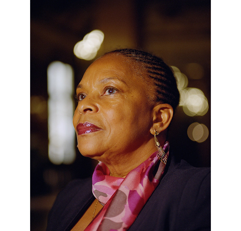 I was honoured to meet and photograph Christiane Taubira (French Minister of Justice at the time) for *M Le Magazine du Monde*. - © Maciek Pożoga