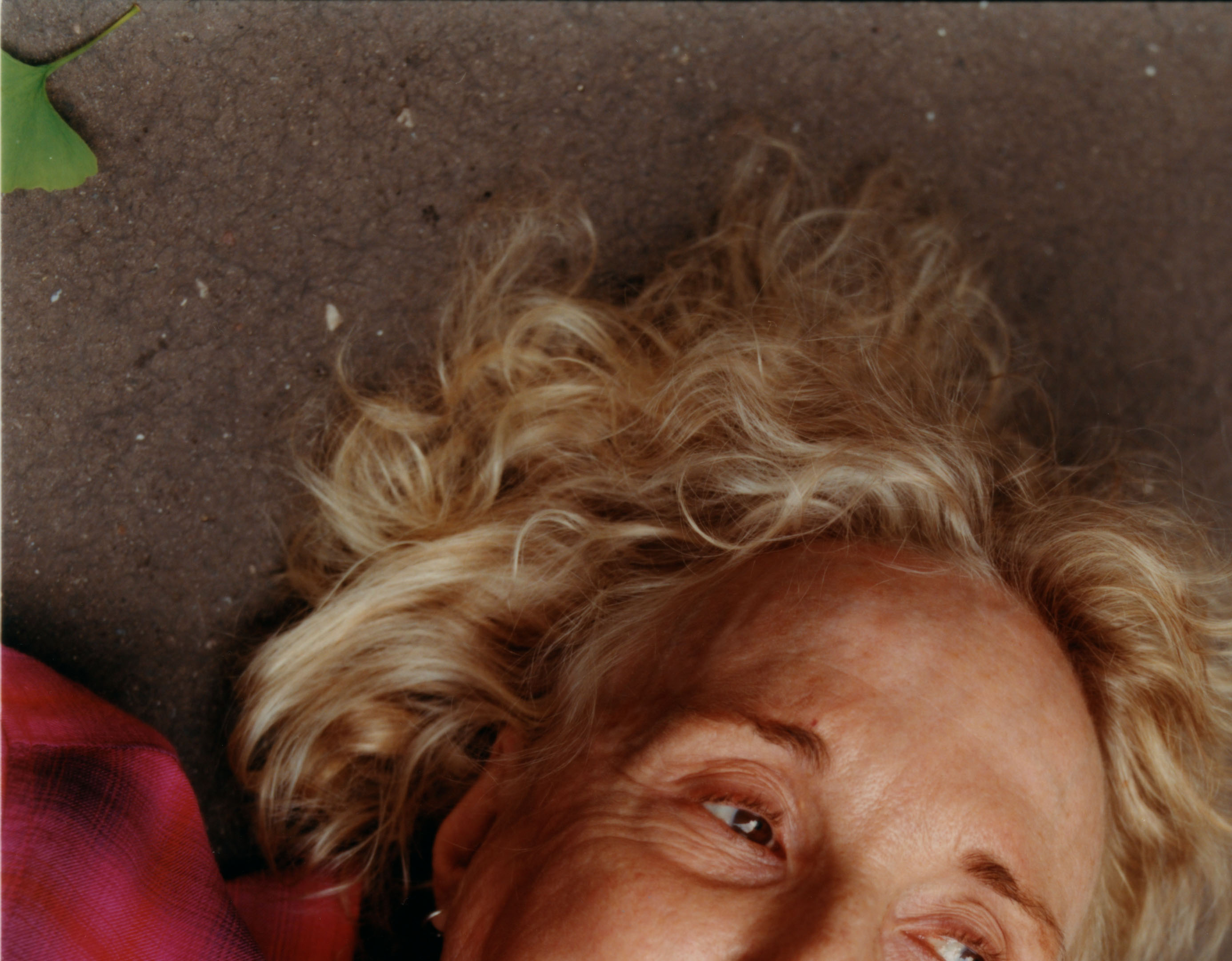 I photographed Claire Denis in summer 2020 for *Mastermind magazine*. We discussed her favourite restaurants, close to where she lives in the 10th Arrondissement of Paris, and the new mattress that she had just bought. Then she decided she would lie on the floor for the rest of the shoot.* {Photo assistant: Emil Kosuge}* - © Maciek Pożoga