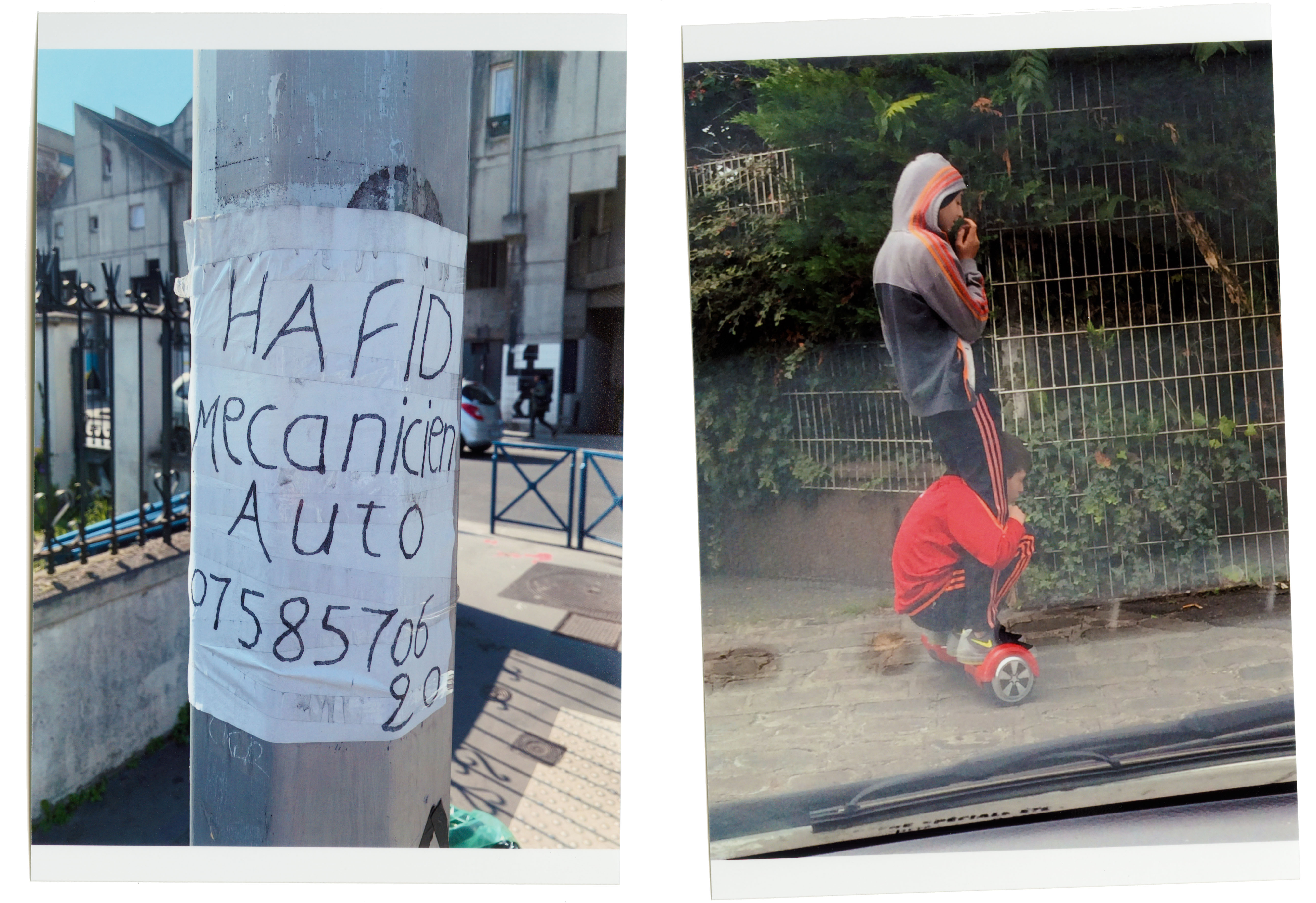 Experiments with using and sorting the flow of images taken with my *iPhone.* - © Maciek Pożoga