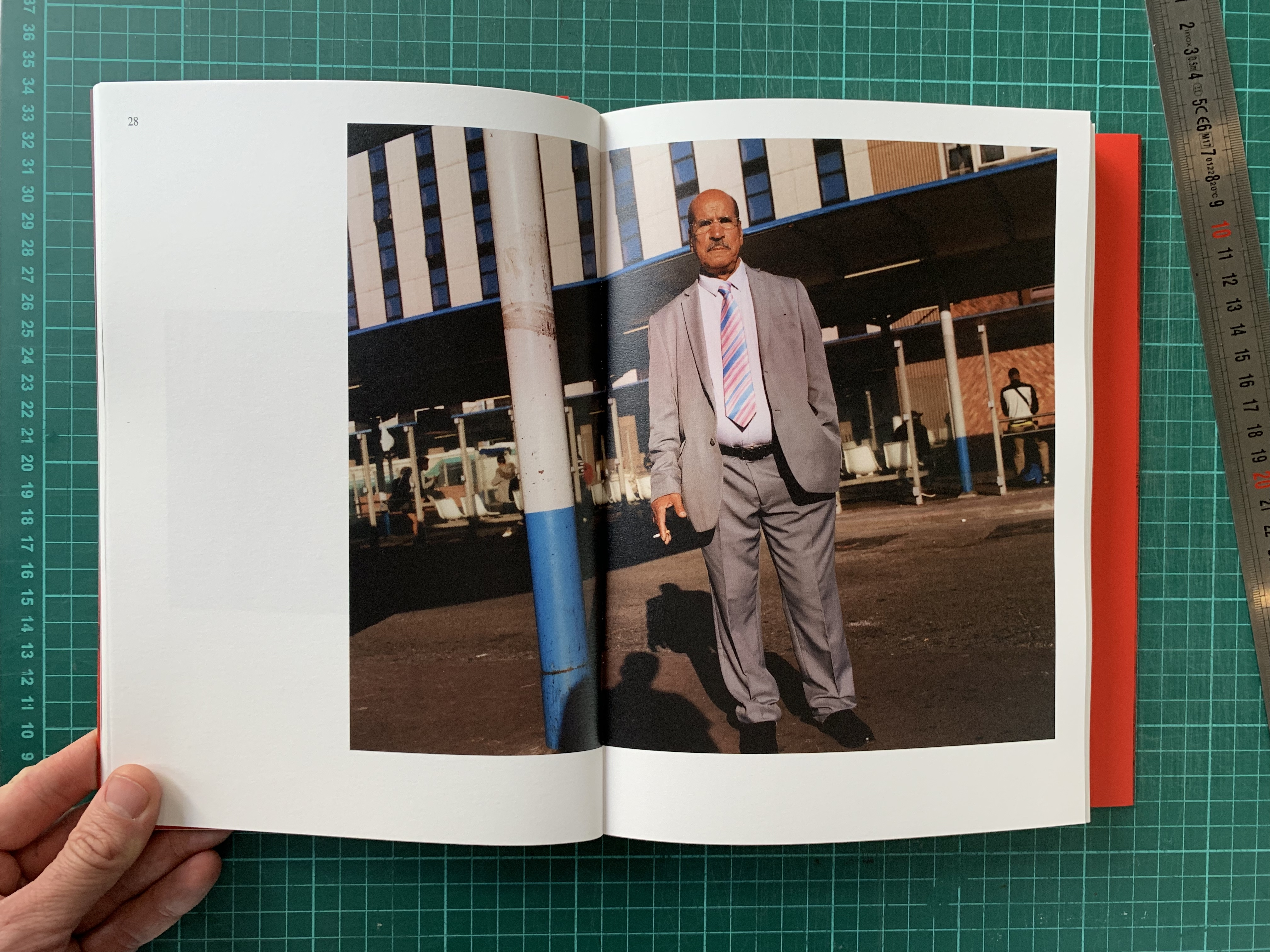 The first draft of my dummy book for *Paris Nord*, a self-initiated photo series that focuses on my local neighbourhood of Seine-Saint-Denis. It was shortlisted for the *Images Vevey Book Award 2019*. Special thanks to Victor and Arthur Brun. 258 pages dummy; softcover; perfect binding - © Maciek Pożoga